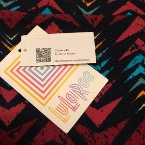 Brand new w tags- LulaRoe Cassie skirt size Medium